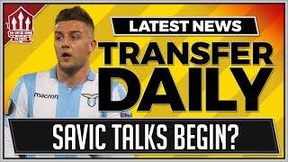 Milinkovic Savic Talks Begin? Man Utd Transfer News