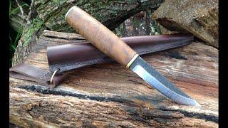 getlinkyoutube.com-Финский нож, процес изготовления и результат в итоге