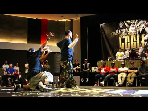 Good Times Ahead VS Flair Brothers @ Now Thats Legit [TOP 8] SINGAPORE 2012