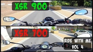 getlinkyoutube.com-Yamaha XSR Family | Ride with Me | Vol 4 | XSR700 OR XSR900