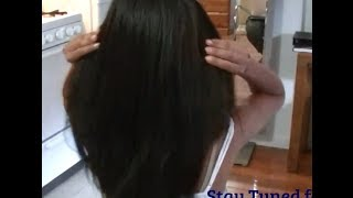 getlinkyoutube.com-How To Install a Natural Sew in Weave Hair Extensions ✿ Kimmy Boutiki