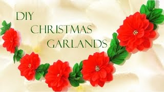 getlinkyoutube.com-DIY guirnaldas navideñas - Christmas garlands
