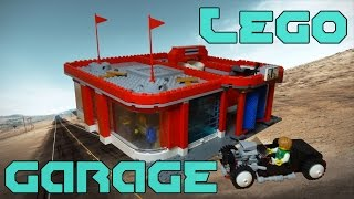 getlinkyoutube.com-Lego Garage & Car Wash