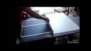 getlinkyoutube.com-Como fazer serra esquadrejadeira de bancada