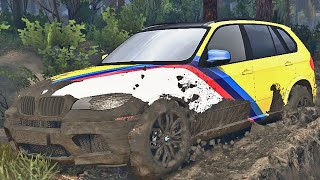 Transportando BMW X5M - Spin Tires