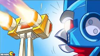 getlinkyoutube.com-Angry Birds Transformers: The EggSpark Hunting All Auto Birds Max Level Gameplay Part 99