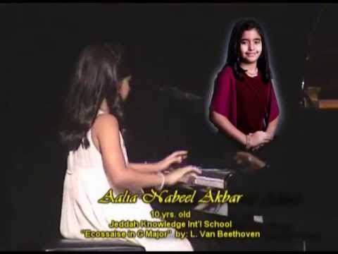 13TH PIANO RECITAL AALIA AKBAR  MARY GRACE DE SILVA's STUDENT