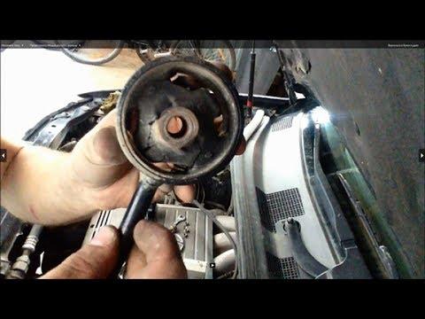 Замена верхней подушки двигателя на 1MZ-FE Lexus RX-300