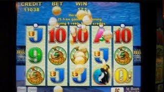 getlinkyoutube.com-Whales of Cash Over 100X Win Free Spins Slot Machine Bonus Round
