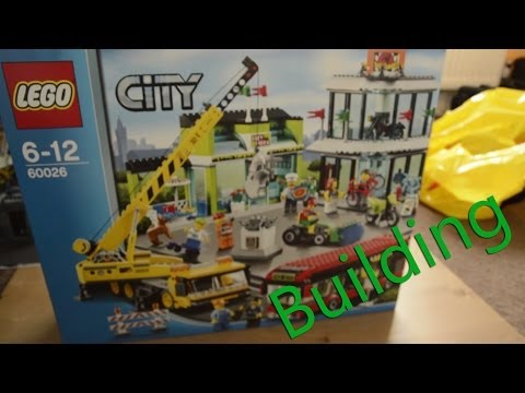 Building Lego City Town Square [60026]