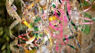 getlinkyoutube.com-Adorno Colgante Espiral de Botellas PET Recicladas