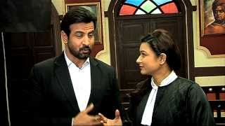 Aashka Goradia and Ronit Roy's chemistry in Adalat - Uncut Interview