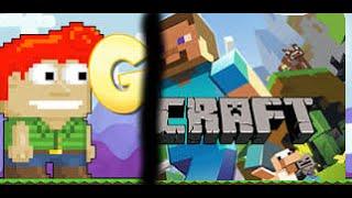 getlinkyoutube.com-[GT] Growtopia vs. Minecraft