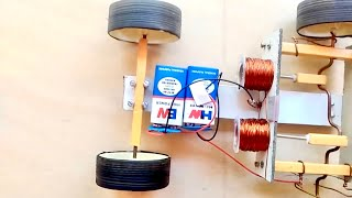 SOLENOID ENGINE CAR Tutorial