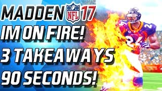 getlinkyoutube.com-IM ON FIRE! 3 INTERCEPTIONS IN 90 SECONDS - Madden 17 Ultimate Team