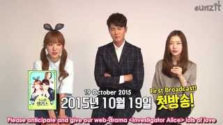 getlinkyoutube.com-[ENG] 151015 Investigator Alice Cast Interview - Namjoo