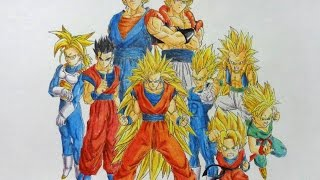 getlinkyoutube.com-Speed Drawing: Dragon Ball Z    Selbor