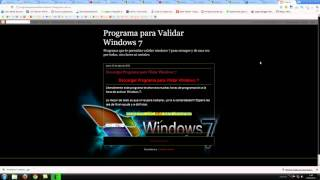 descargar programa para validar windows 7 ultimate