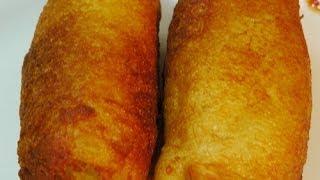 getlinkyoutube.com-Bread Roll - Quick Indian Snacks