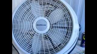 getlinkyoutube.com-REPARACION DE UN VENTILADOR  -  WIND MACHINE- MODELO D437,925S