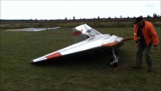 getlinkyoutube.com-Verhees Delta, a FAST, tiny homebuilt airplane