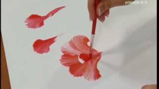 getlinkyoutube.com-Nuria Sánchez nos enseña a pintar con la técnica multicarga, Bien Simple, utilísima
