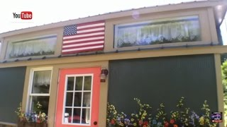 """getlinkyoutube.com-""""American Freedom"""" Off Grid Tiny House built by Incredible Tiny Homes"""