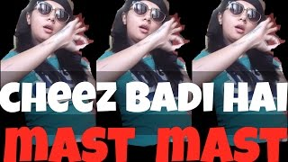 Cheez Badi Hai Mast Mast Dance Cover?!   #SawaalSaturday   MostlySane