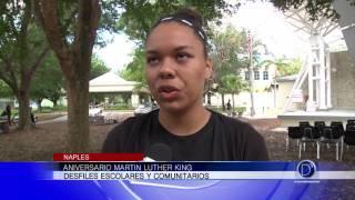 Desfiles escolares y comunitarios por aniversario de Martin Luthr King Jr
