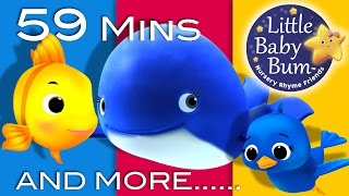 getlinkyoutube.com-The Little Blue Whale | Plus Lots More Nursery Rhymes | 59 Minutes Compilation from LittleBabyBum!