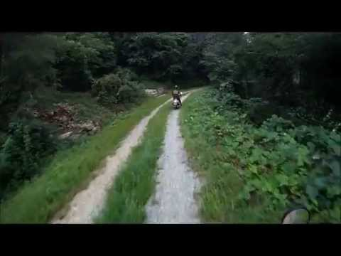 FTR223 + RX125 + SCR100. Mt.Hwaya. Offroad Riding