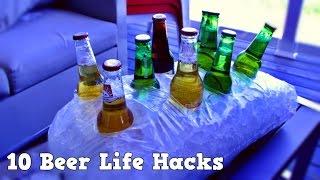 getlinkyoutube.com-10 Beer Life Hacks