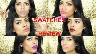 getlinkyoutube.com-BH Cosmetics Liquid Lipstick Review+ Swatches