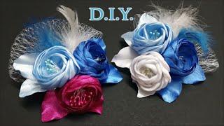 getlinkyoutube.com-❄ ❄ ❄ D.I.Y. Frozen Themed Bridal Flower | MyInDulzens ❄ ❄ ❄