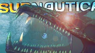getlinkyoutube.com-GARGANTUAN CREATURE SKELETON IN THE LOST RIVER BIOME! | Subnautica - Part 15