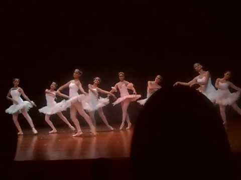 arte espacio ballet baile chicas del elenco puntas