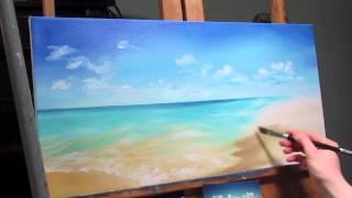 getlinkyoutube.com-Oil Painting - Ocean Scene