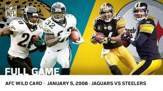 getlinkyoutube.com-2007 AFC Wild Card: Jaguars vs. Steelers (FULL GAME)   #FreeGameFridays   NFL