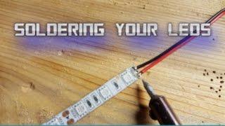 getlinkyoutube.com-Soldering LED light strips for your boat