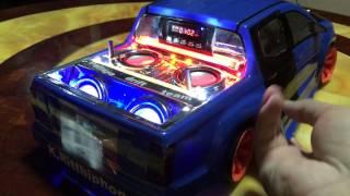 getlinkyoutube.com-รถบังคับติดเครื่องเสียง Rc Drift 1/10 by neung