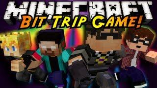 getlinkyoutube.com-Minecraft Mini-Game : BIT TRIP!