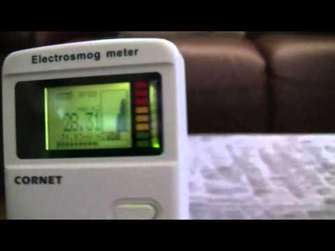 Tenmars TM196 Vs Cornet ED75 RF Meters on 2.4 GHz WiFi