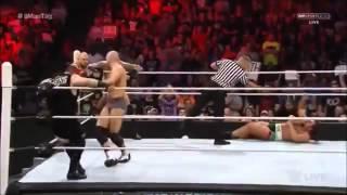 getlinkyoutube.com-WWE RAW, Ryback, Orton, Ziggler & Cesaro vs Kevin Owens, Rusev, Sheamus & Big Show, Aug 24, 2015