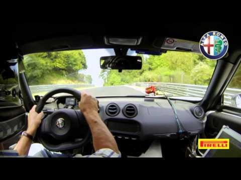 Video - Alfa Romeo 4C al Nurburgring (2013)
