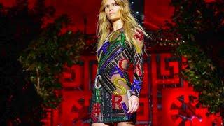 getlinkyoutube.com-Versace F/W 2015. Daria Shapovalova at Milan Fashion Week