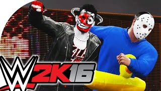 *NEW* WWE 2K16 / CaRtOoNz & H2O Delirious (TAG TEAM vs Randoms!)