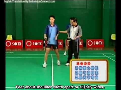22 Chen Weihua Badminton Training - Backhand Smash Return (English Subtitles)