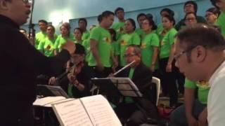 Awit ng Pagpapanibago - Sinulog 2016 SPCFC joint choir