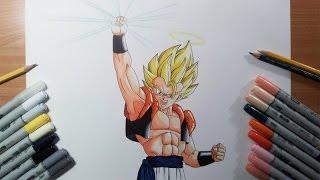 getlinkyoutube.com-Drawing Gogeta Super Saiyan   SSJ