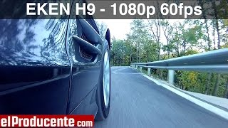 getlinkyoutube.com-EKEN H9 - 1080p 60fps - Car Demo Footage